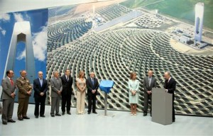 The largest solar tower plant begins operations in Spain
