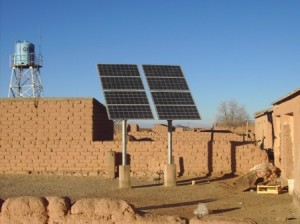 Being a high altitude plateau in the Jujuy region, Puna has one of the highest insolation levels in the world. No wonder that an NGO promoting solar power is already active in the area.