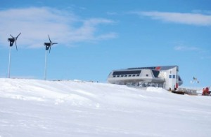 """Schneider Electric is supporting the project for the """"zero-emissions"""" Antarctic research station led by the International Polar Foundation. This polar station is the first """"zero-emissions"""" research station in the world."""
