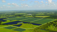 The DeSoto Next Generation Solar Energy Center in Arcadia, Florida will be powered by 90,000 photovoltaic panels.
