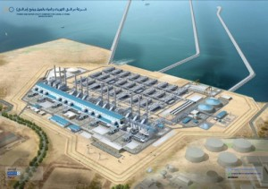 Predicting peak oil? Saudi water desalination plants like this one to be powered by the sun